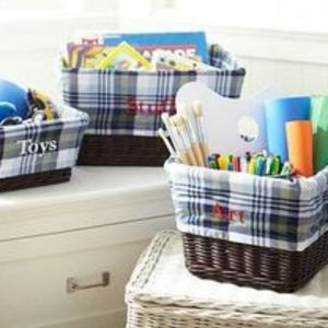 Pottery Barn Kids NWT Basket Liner